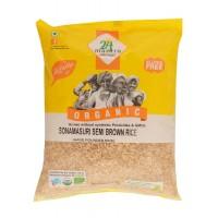 24 Mantra Organic Sonamasuri Semi Rice Hand pounded, 5kg
