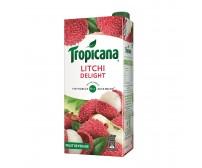 Tropicana Litchi Delight Fruit Juice , 1000ml